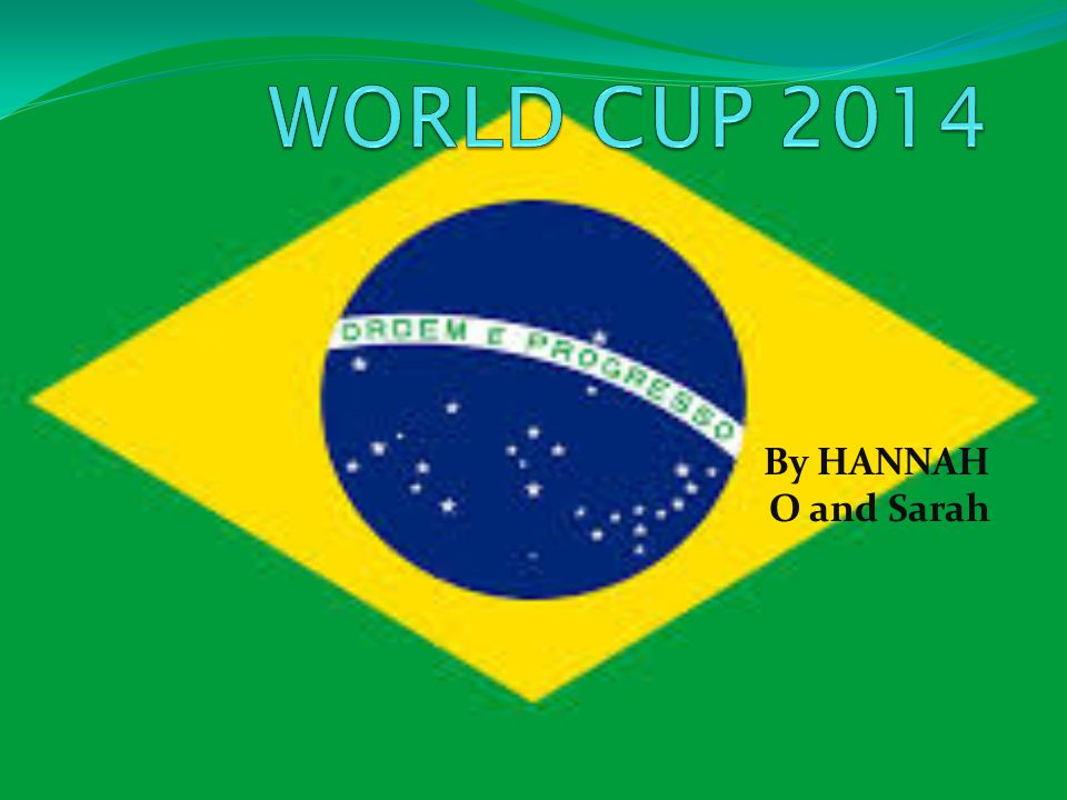 By HANNAH O and Sarah WORLD CUP FACTS The FIFA World Cup was first