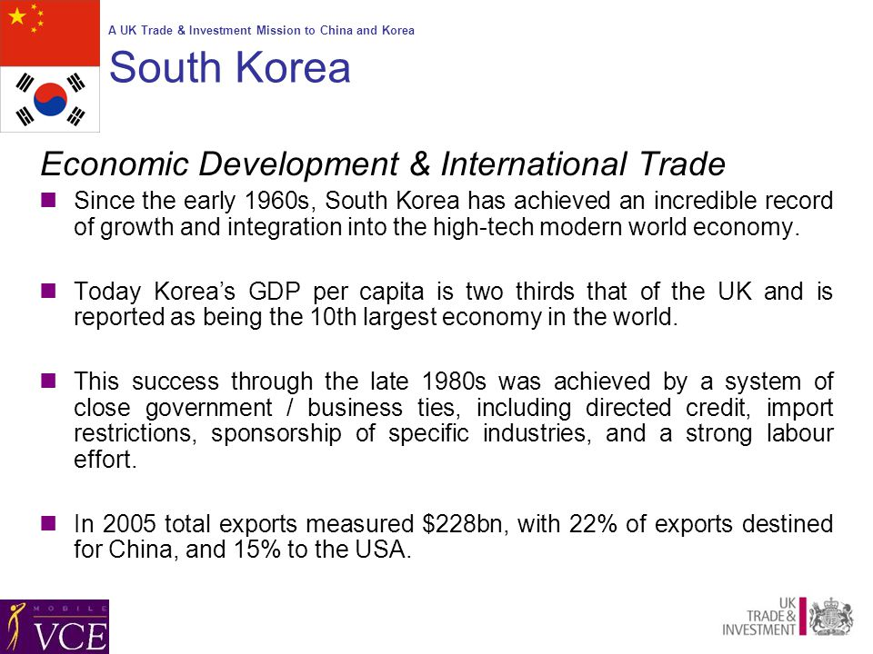 A UK Trade & Investment Mission to China and Korea Wireless
