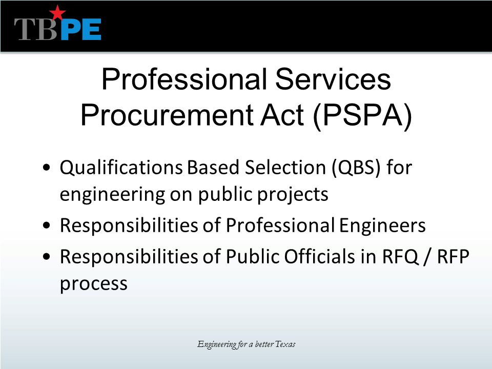 Texas Board Of Professional Engineers Professional Practice