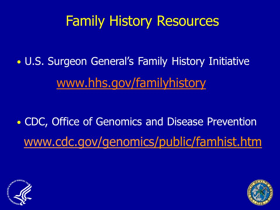 Family History Resources U.S.