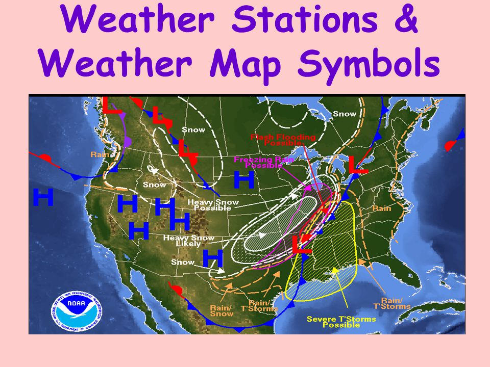 What Does This Symbol Indicate On A Weather Map.Weather Stations Weather Map Symbols Weather Station Models Label