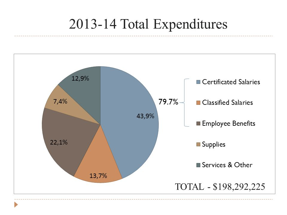 Total Expenditures TOTAL - $198,292,225