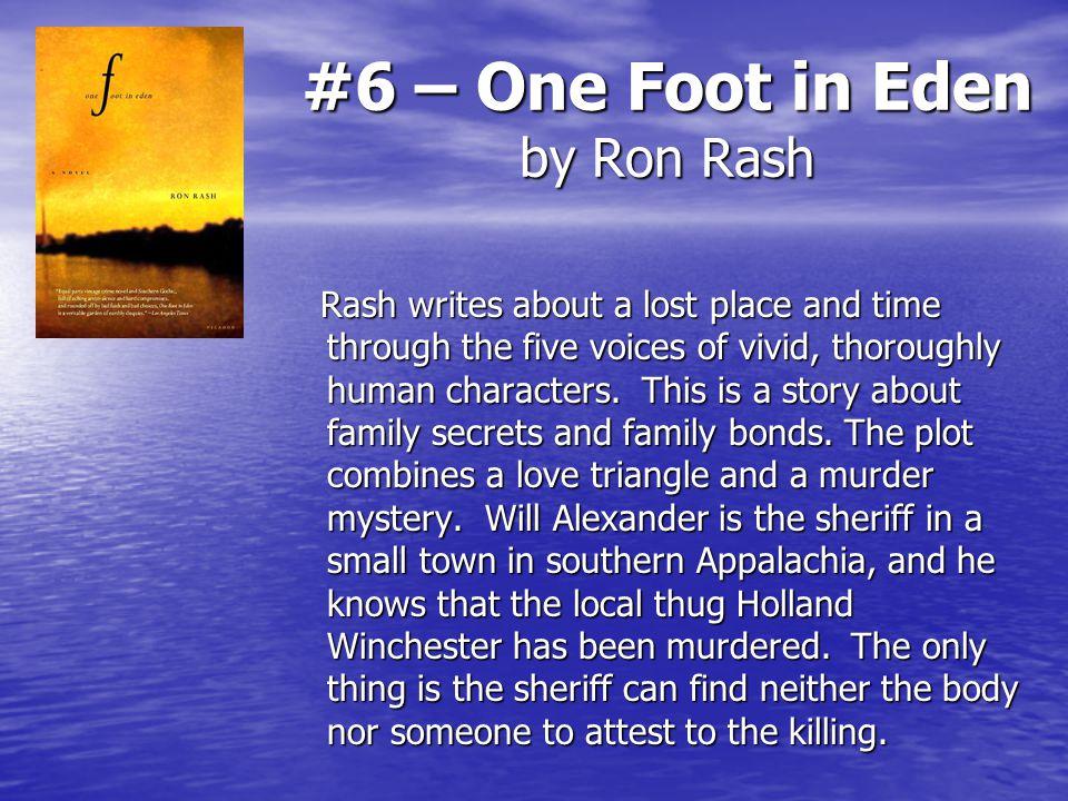 one foot in eden characters