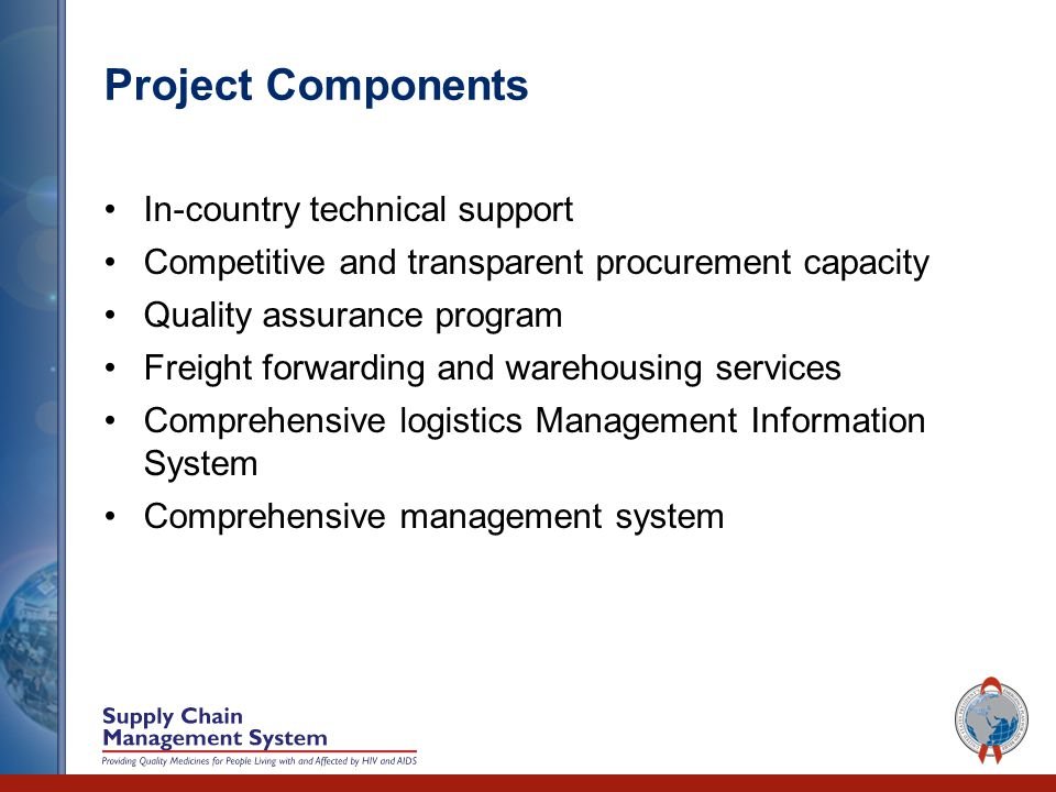 Supply Chain Management System Project The Partnership for