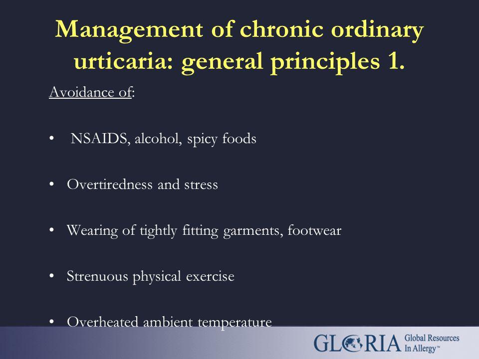 GLORIA Module 12: Urticaria an educational program of