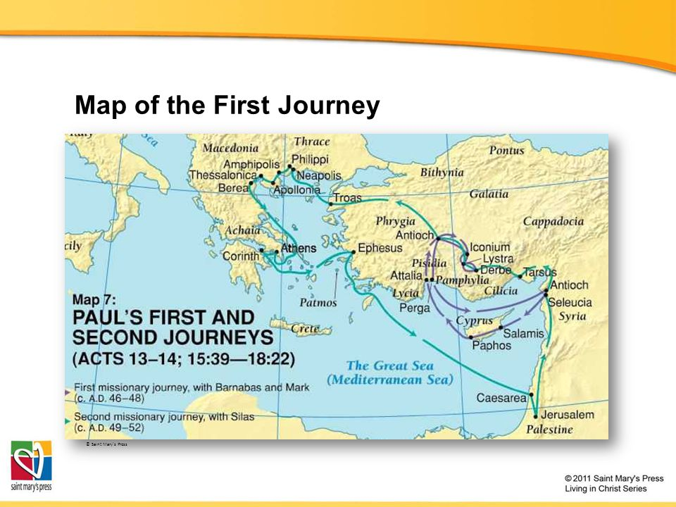 Pauls Journeys The Church Course Document TX Ppt Download
