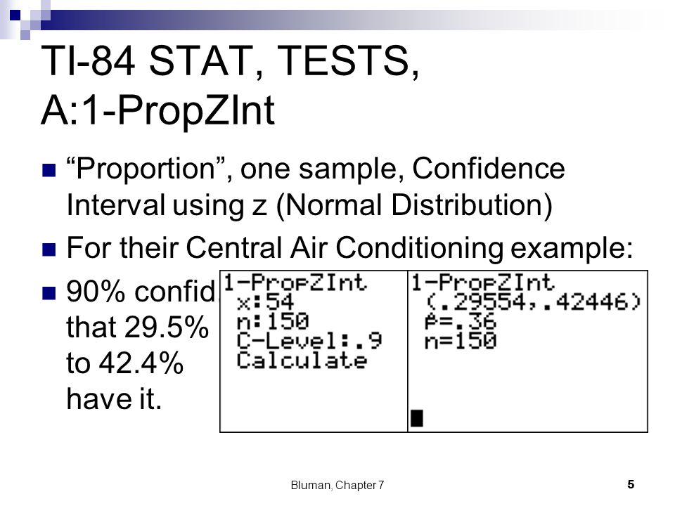 7 3 Confidence Intervals and Sample Size for Proportions