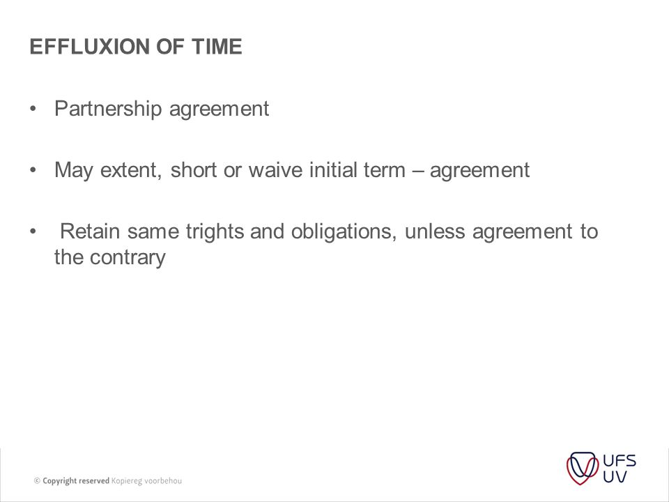 T Law Of Partnerships Dissolution Of Partnerships Ppt Download