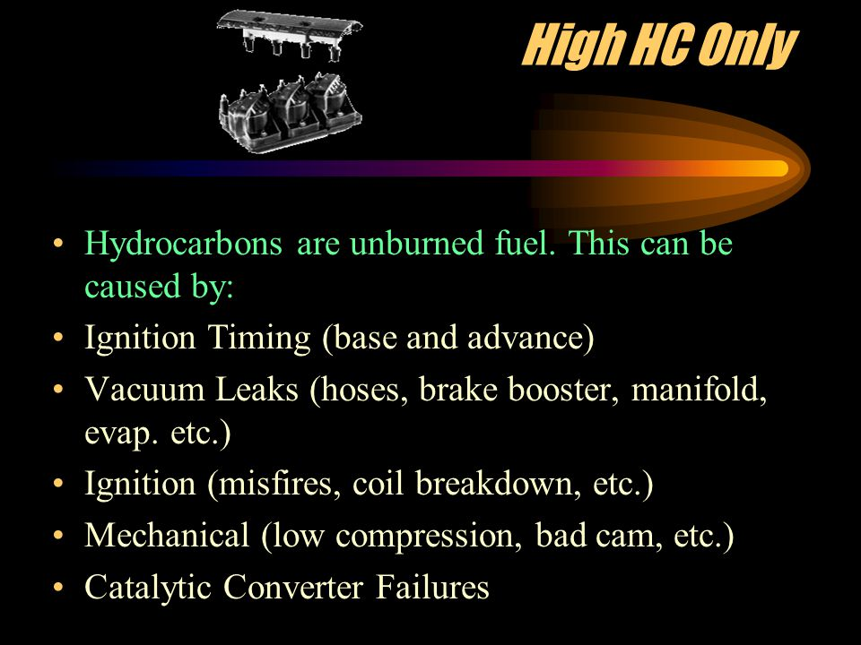 Gas Analysis as a Diagnostic Tool Gas analysis is a quick and accurate way to determine the running conditions of an engine By observing the 5 gas readings and understanding their relationship to each other you can diagnose the 3 major engine areas: Fuel delivery Ignition Engine Mechanics