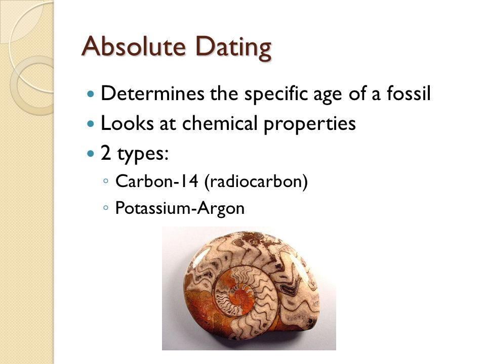 Carbon dating method is used to determine the age of fossil