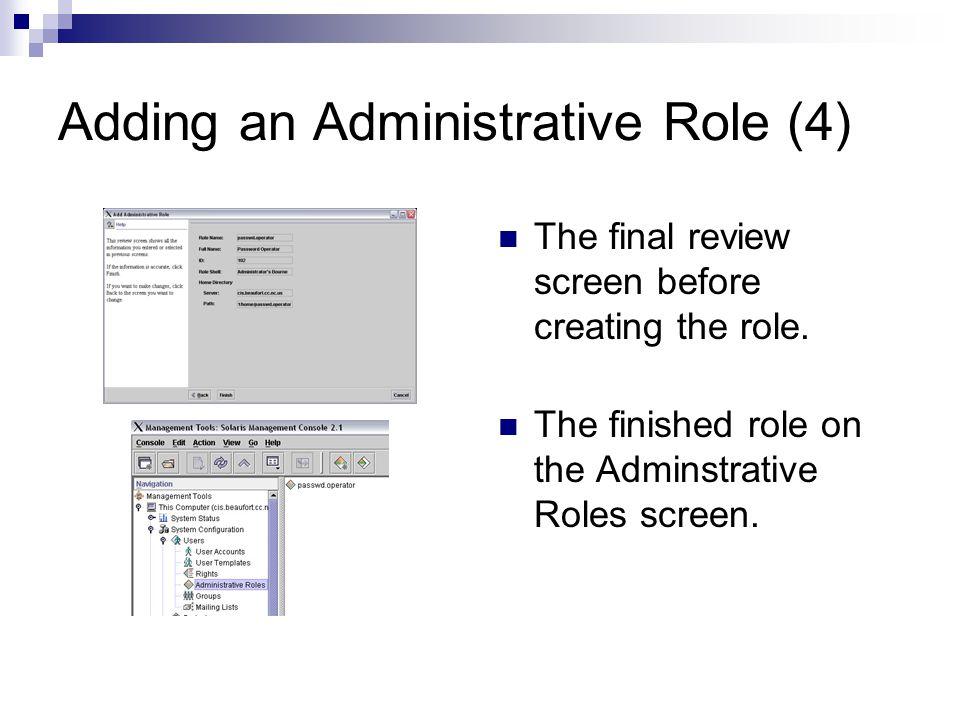 Unix System Administration Solaris Management Console Chuck
