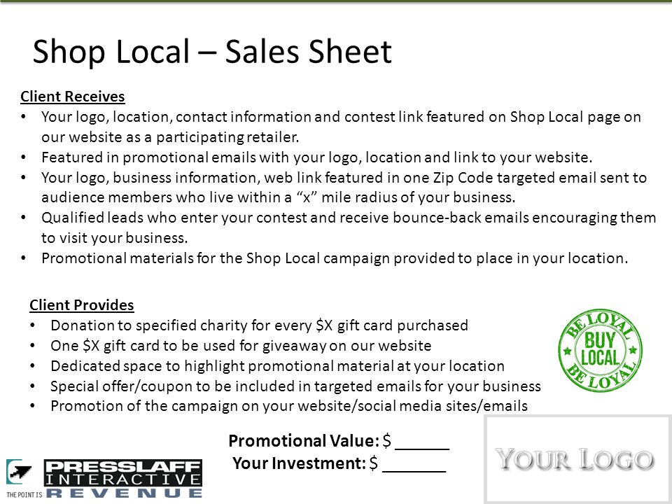 Theres No Place Like Home Shop Local Concept Participating