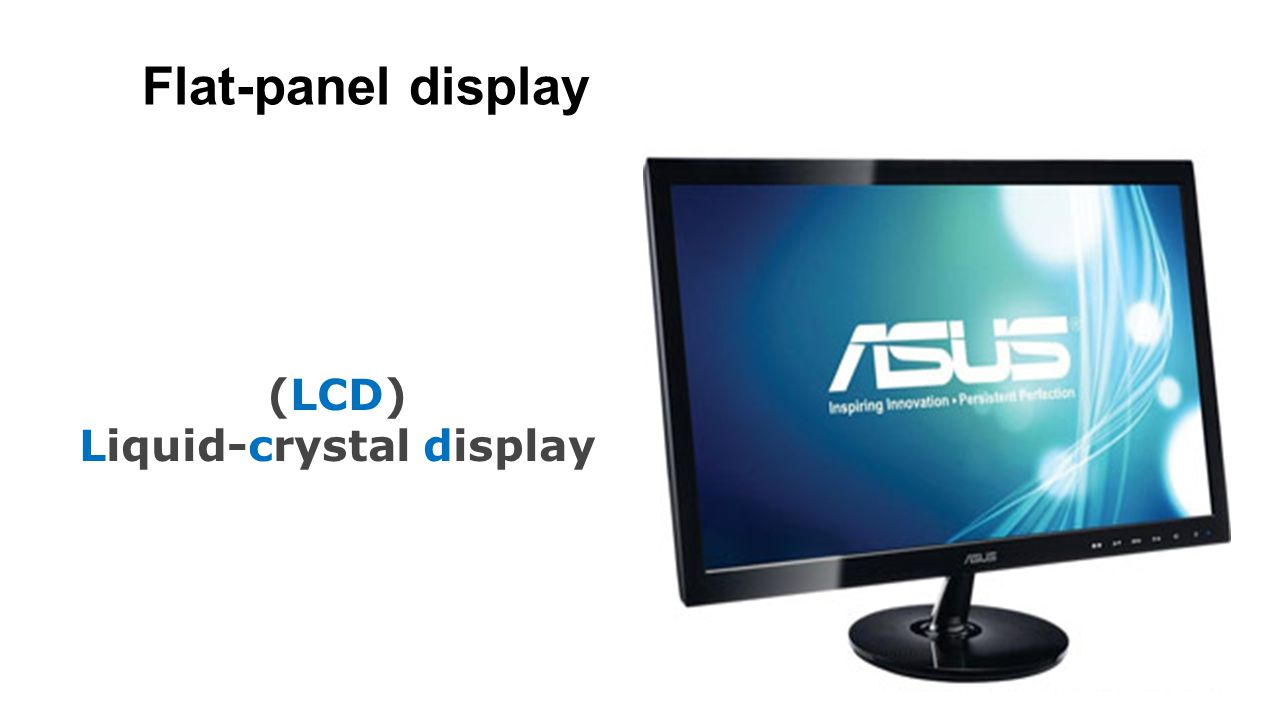 External Hardware Examples Flat Panel Lcd Liquid Crystal Display 6