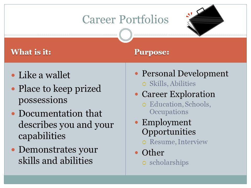 GRADE 10 UPDATE MS. LAPOINTE Vanier Collegiate Career Portfolios ...