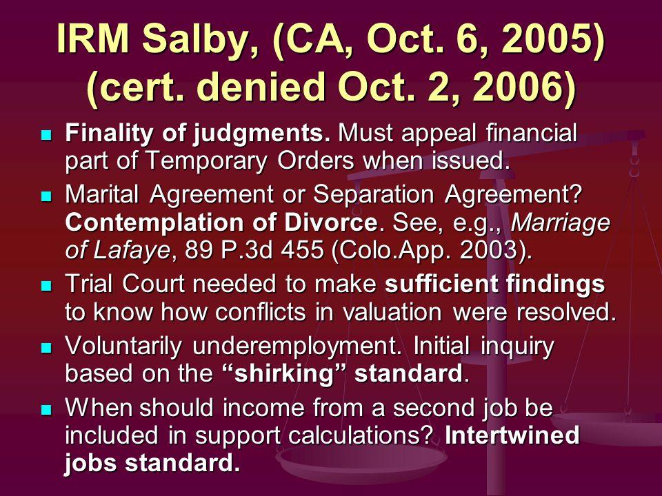 Family Law Update Presented By Ron Litvak And Tim Mehrtens Litvak