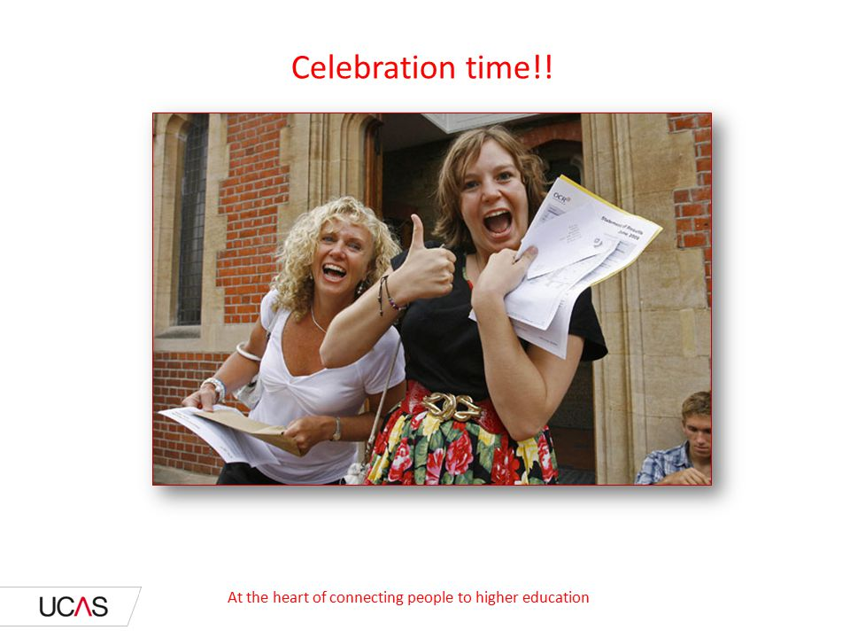 Celebration time!! At the heart of connecting people to higher education