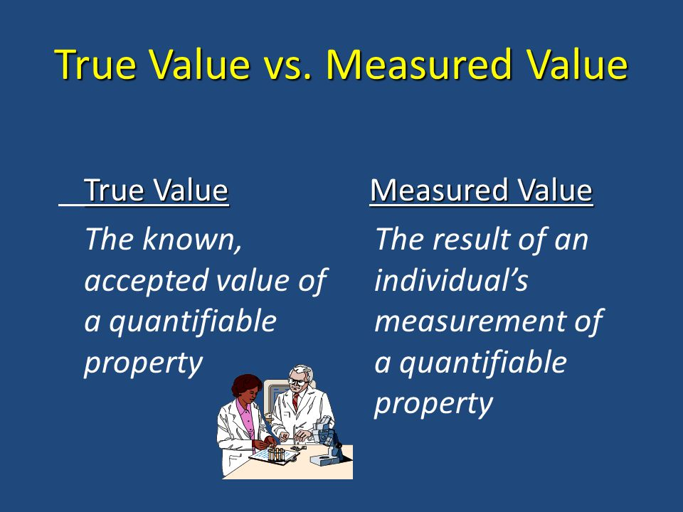 True Value vs.