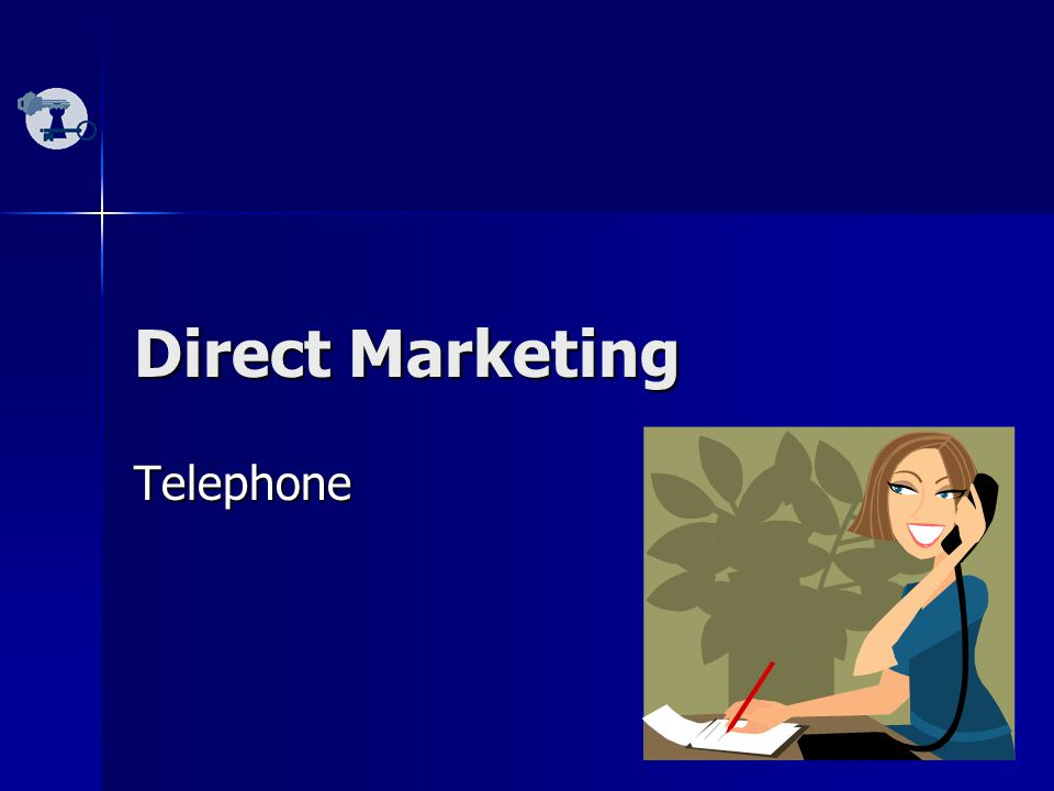 13 Direct Marketing Telephone