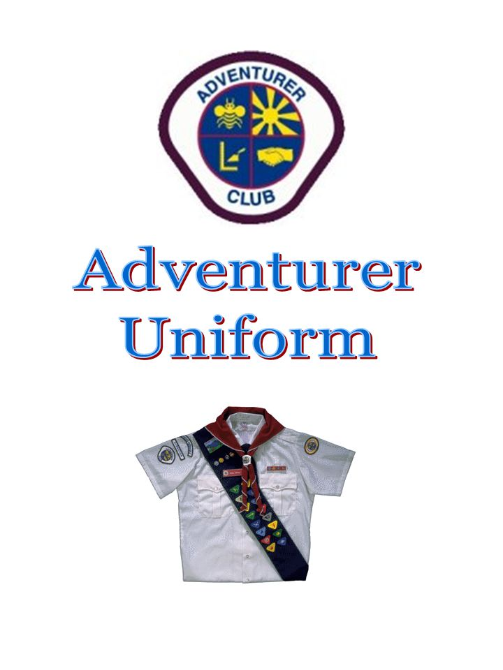 The uniform The uniform makes the organization real and