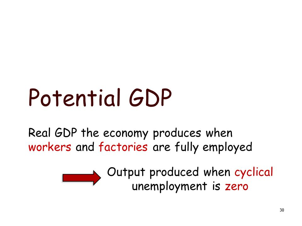 Three types of unemployment:  Structural: workers who do not have skills currently in demand…there is no job for them.