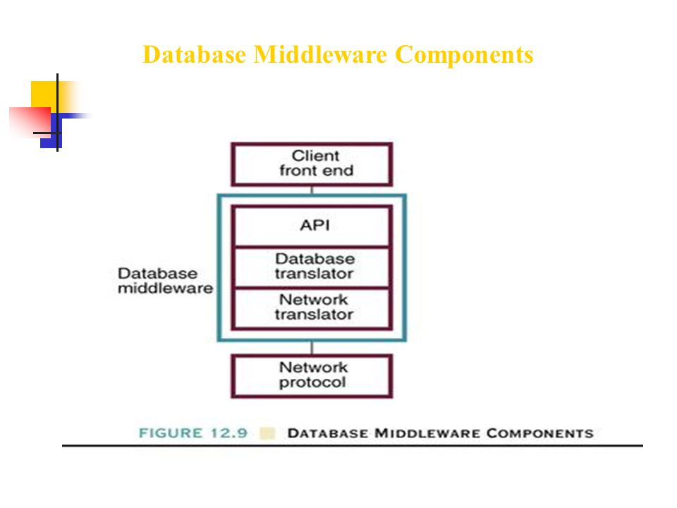 Database Middleware Components