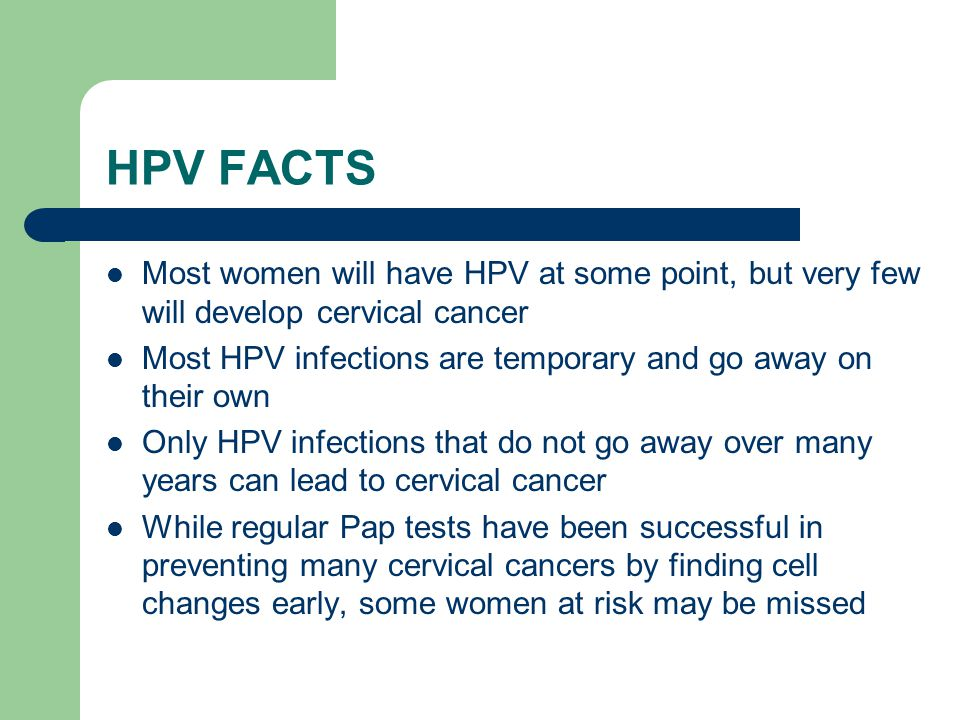 Does hpv go away while sexually active