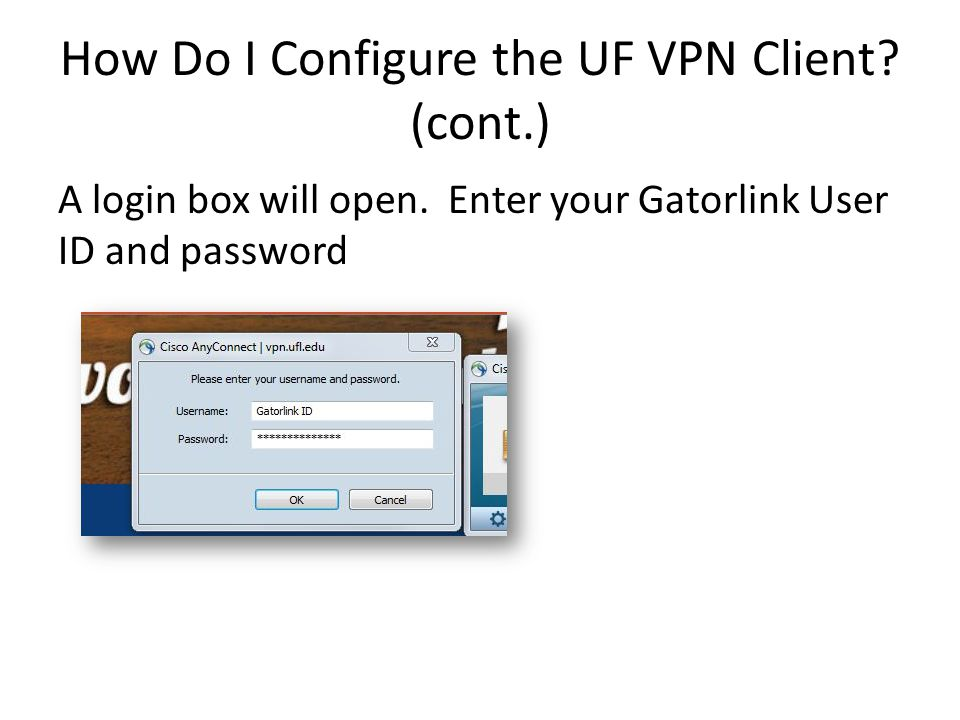 What is the UF VPN Client, and How Do I Use it? (for Windows XP/7/ 8