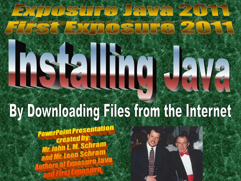 The Basic Java Tools A text editor to write Java program source code