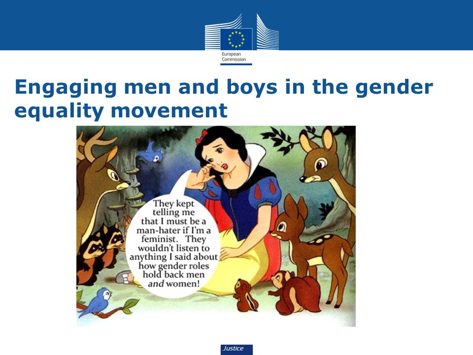 Engaging men and boys in the gender equality movement