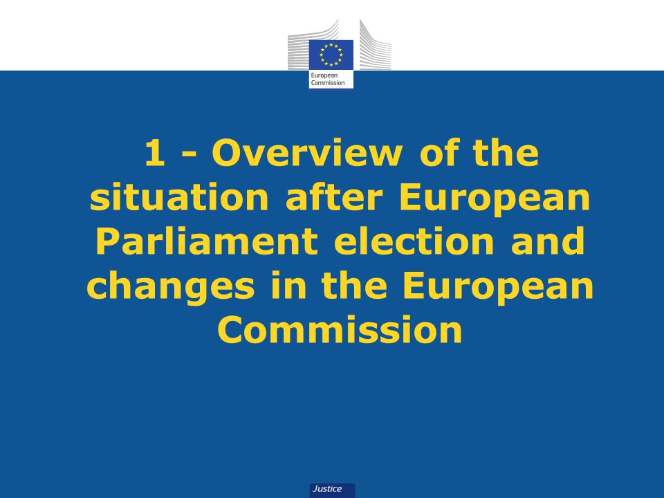 1 - Overview of the situation after European Parliament election and changes in the European Commission