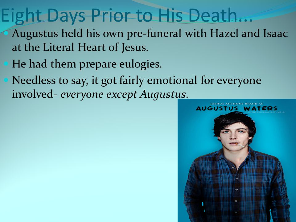 augustus waters death