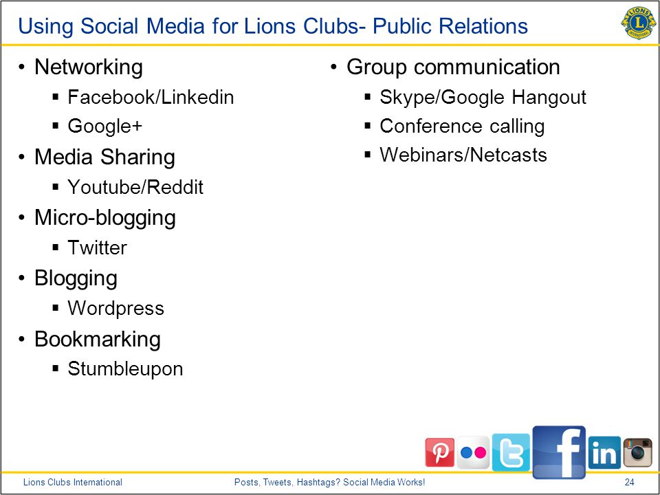 24Lions Clubs InternationalPosts, Tweets, Hashtags.