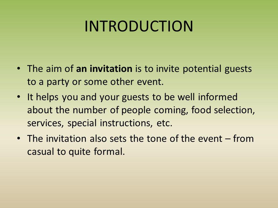writing an informal invitation petr novotný gymnázium dr karla