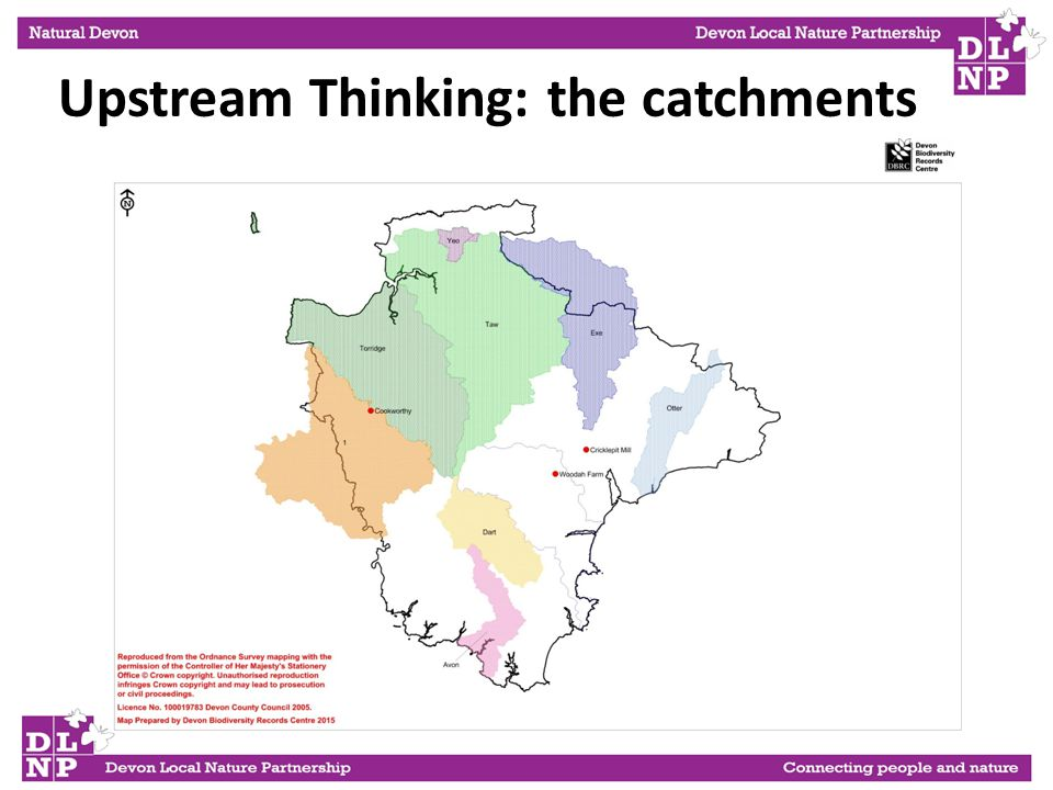 Upstream Thinking: the catchments