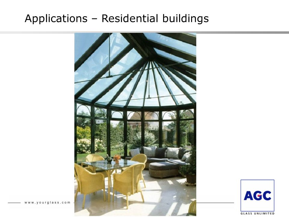 Setting of glass: Types of façades and examples of realisation 2007