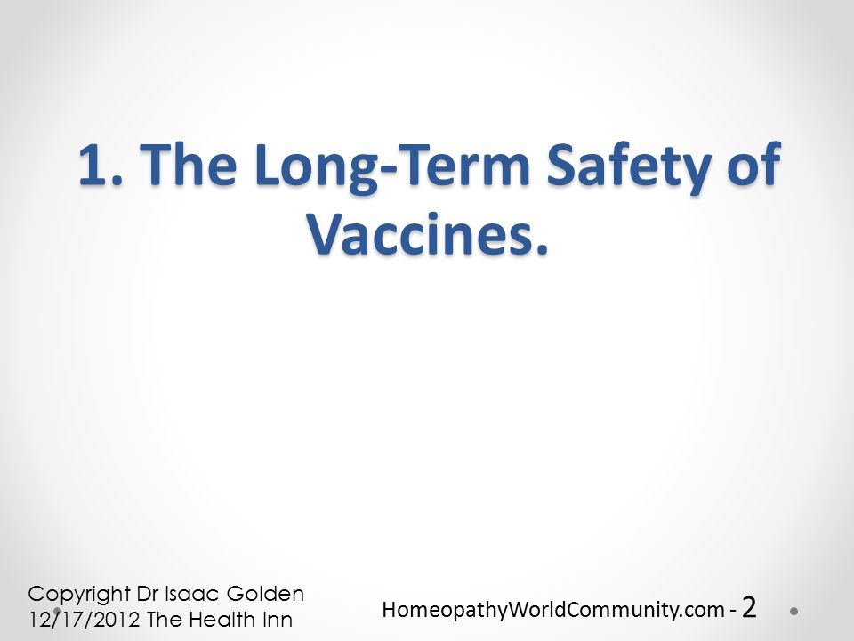 HomeopathyWorldCommunity com - 1 Vaccine Safety, Options and