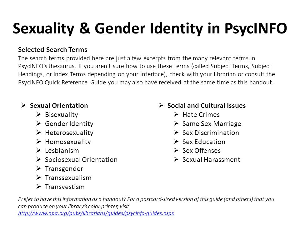 Sociosexual orientation gender