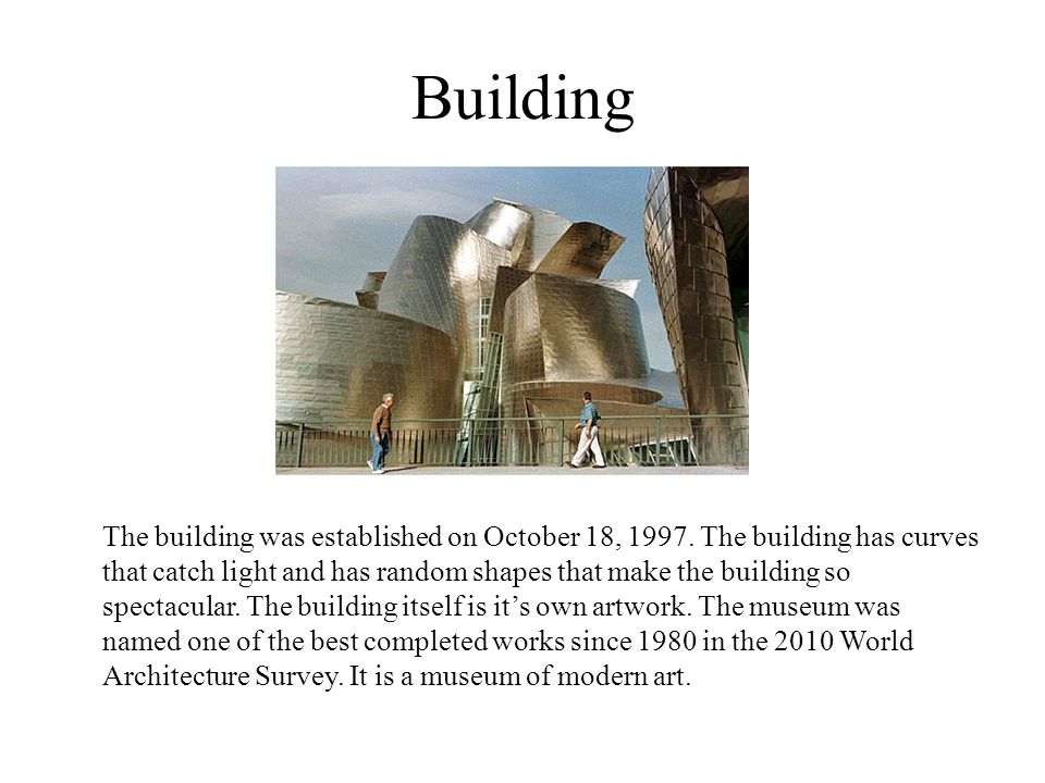 Building The building was established on October 18, 1997.