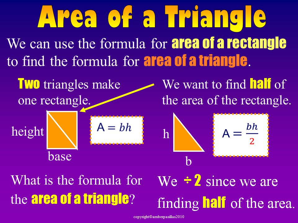 Given a right triangle Make a similar triangle, flip it and put both triangles next to each other.