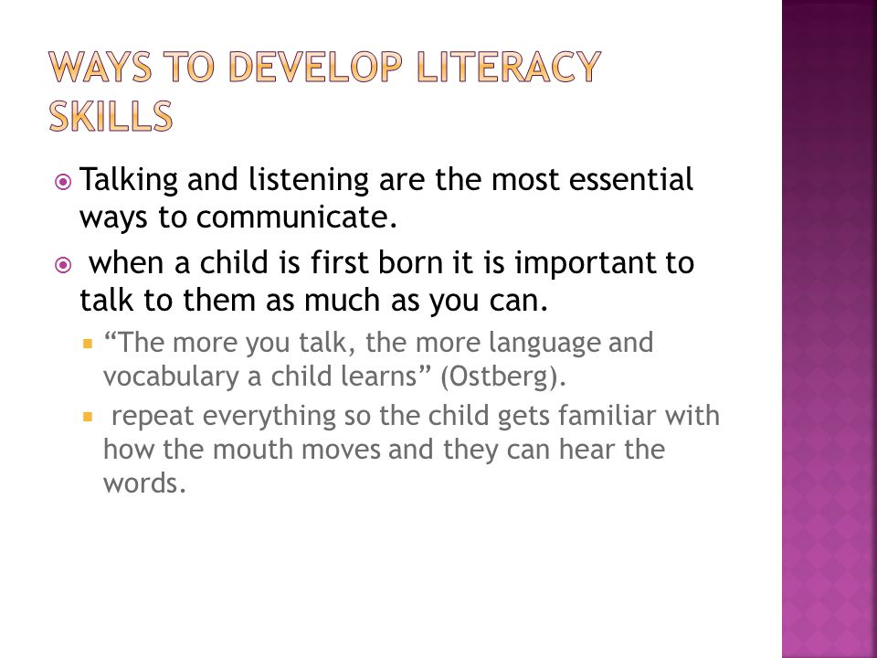  Talking and listening are the most essential ways to communicate.