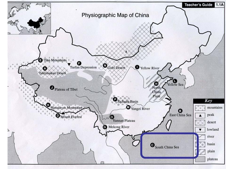Physiographic Map Of China | dijkversterkingbas
