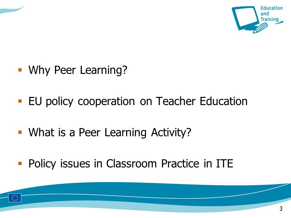 3  Why Peer Learning.