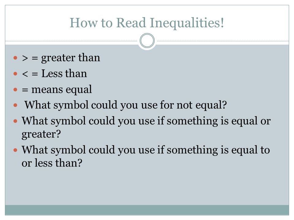 6ee 8 Inequalities Expressions And Equations Objectives Content
