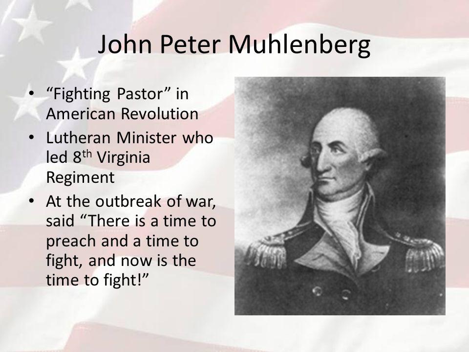 john peter muhlenberg