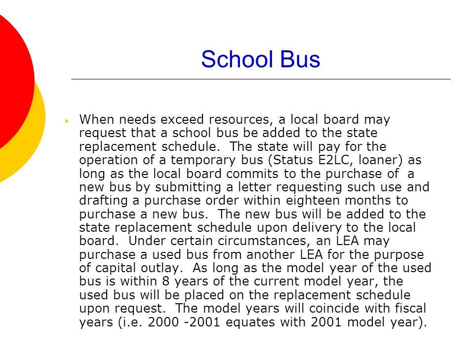 NC Department of Public Instruction Transportation Services Vehicle