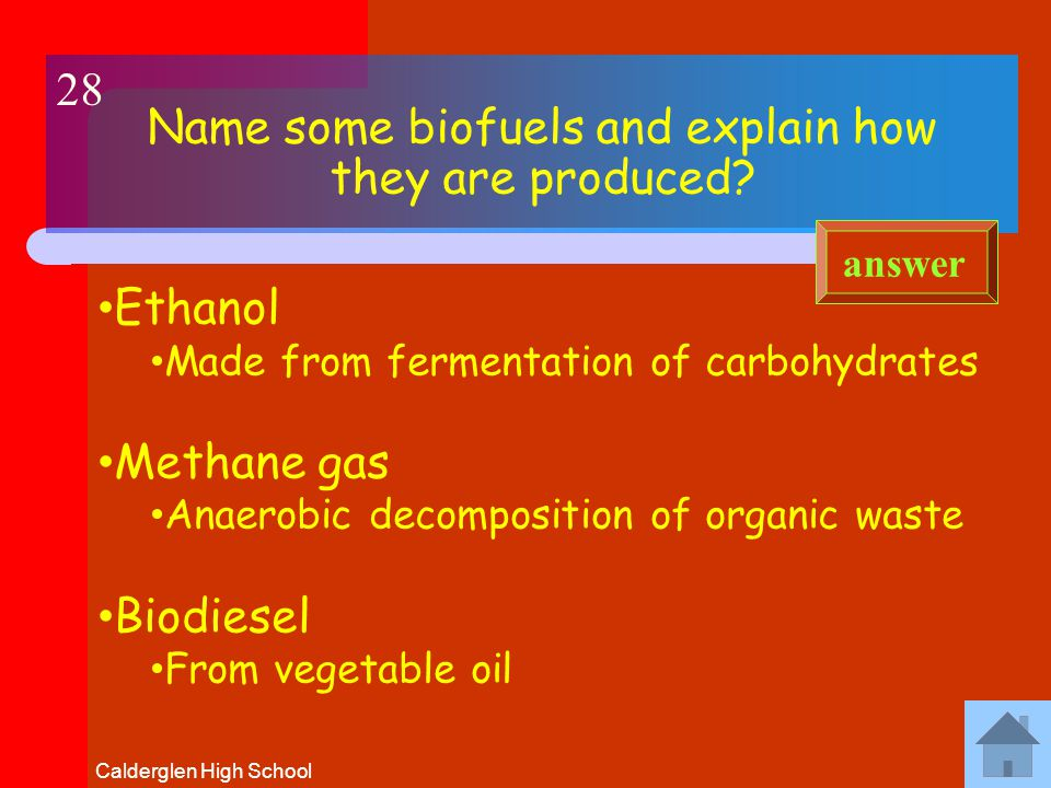 Calderglen High School What is BIOMASS.