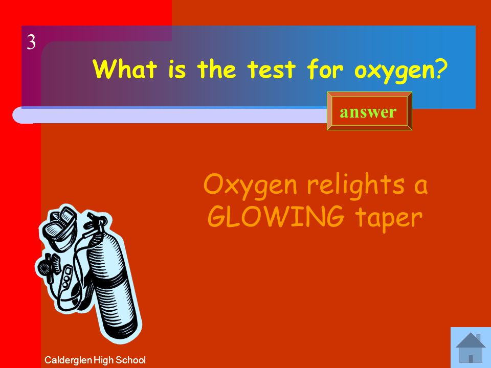 Calderglen High School The reaction of a substance with oxygen (oxidation) to give out energy.