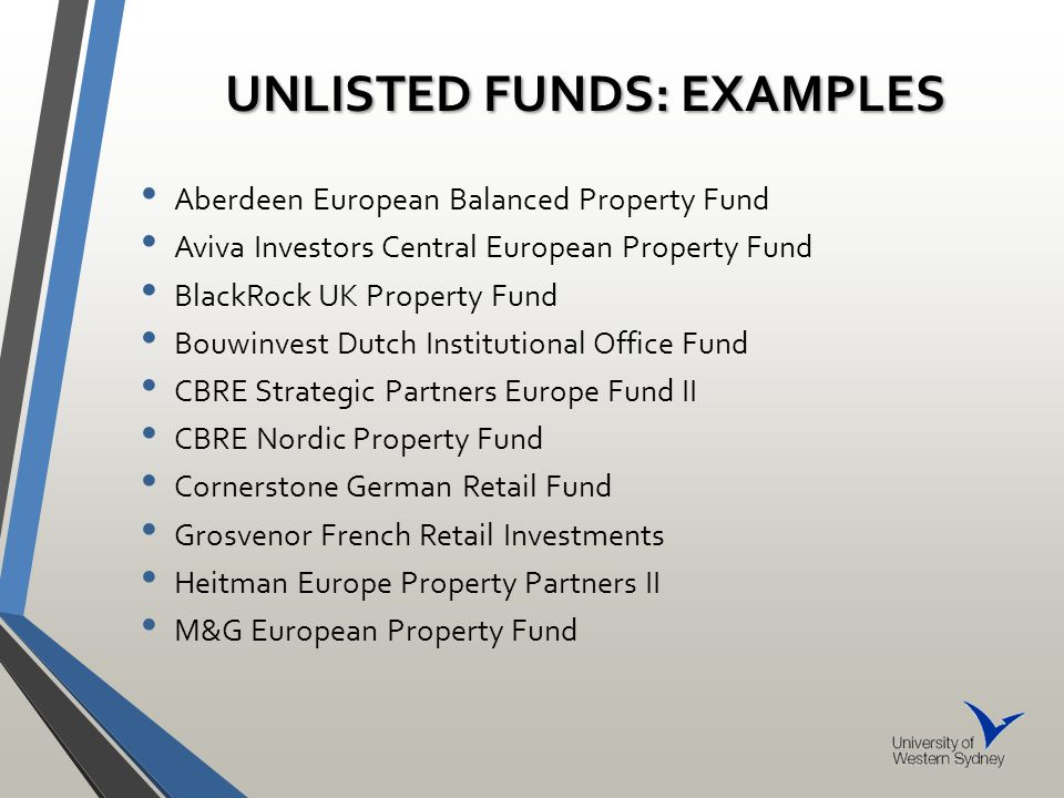 THE PERFORMANCE AND DIVERSIFICATION BENEFITS OF EUROPEAN NON