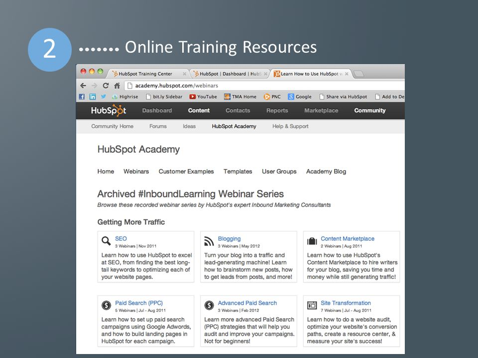 2 Online Training Resources