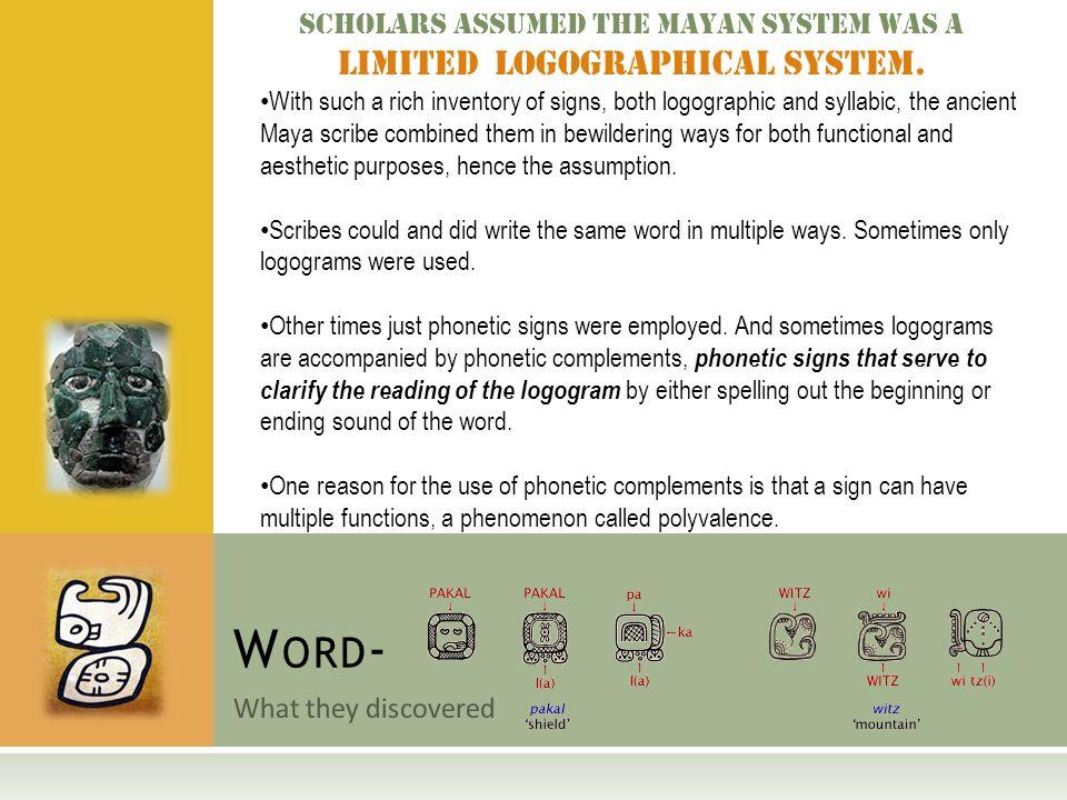 M Ayan H Ieroglyphic L Anguage Reintroduction Of A Lost Language